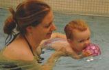 Kleinkinder Wasserplausch